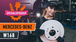 Montering Bremseskiver MERCEDES-BENZ A-CLASS (W168): gratis video