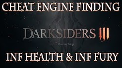 DARKSIDERS 3: Inf Health & Inf Fury | Finding Float Values By Scanning 4 Byte