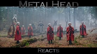"METALHEAD REACTS to ""Zenit"" by Onuka"