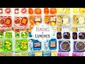 Colorful School Lunch Ideas for KIDS + What They Ate   K, 1st grade, 2nd Grade   BUNCHES of LUNCHES