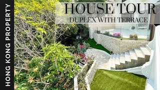 HOUSE TOUR | LUXURY DUPLEX WITH TERRACE   | Hong Kong