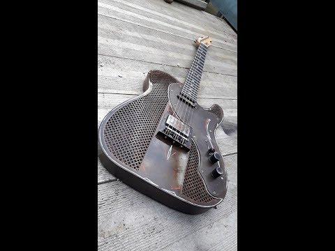 DIY steel body guitar