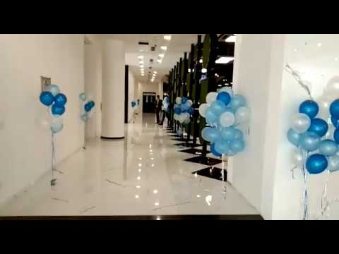 Office Decoration Ideas By Helium Balloons In