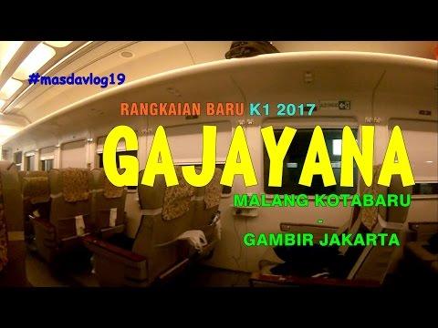 "[MasdaVlog #19] ""NYOBA"" Kereta Baru | KA eksekutif GAJAYANA New Image 2017"