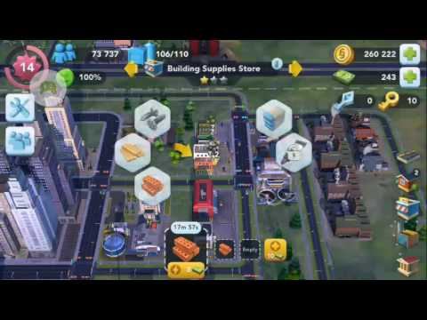 Simcity BuildIt Part 67 City Storage: On the edge of capacity