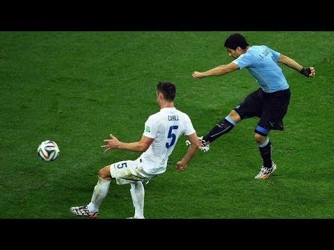 Uruguay Beats England 2-1! Luis Suarez Scores Twice! What Took Rooney So Long?