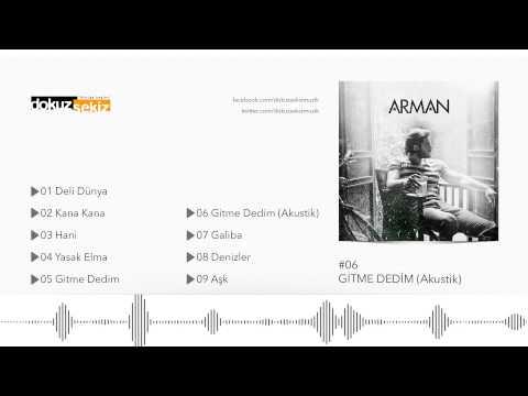 Arman - Gitme Dedim (Akustik) (Official Audio)