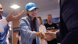 Sofia Carson on Working with Unicef! | Summer of Service | Descendants 3
