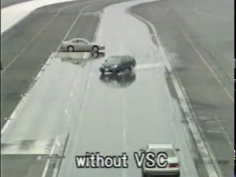 TOYOTA: VSC (Система стабилизации движения)