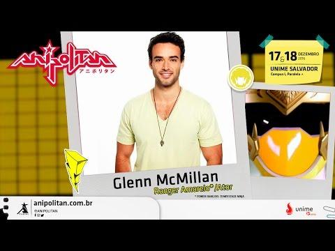 #Anipólitan2016    Glenn A McMillan, o Power Ranger Brasileiro