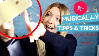 MUSICAL.LY Tipps & Tricks - SLO MOTION FREIHÄNDIG, ZOOM TRANSITION HACKS l Kathinska