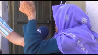 Yardıma muhtaç yaşlı kadın yardım bekliyor \ 21 05 2014 \ ŞANLIURFA