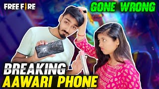 Breaking AAWARI Phone Gone Wrong 😱 Crying Reaction || Free Fire