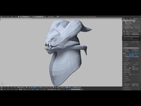Dragon Sculpting   Creatures   Patreon Reward  ArtStation Part 1