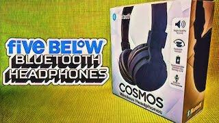 Bluetooth Headphones from Five Below – $5 Cosmos Headphones Review – Budget Buys Ep. 3