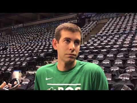 Boston Celtics' Brad Stevens on Game 3, John Henson's injury, more