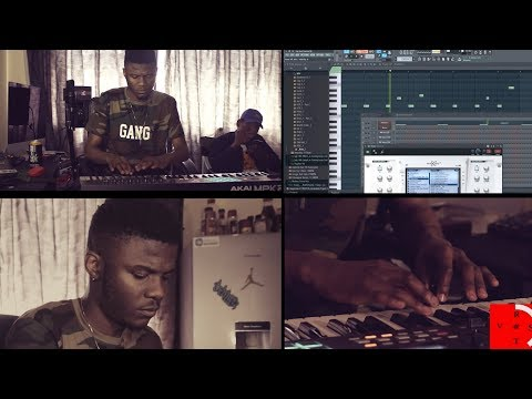 """Tweezy Makes Beat In 10 Minute For """"Me Against Time"""" (Episode 9)"""
