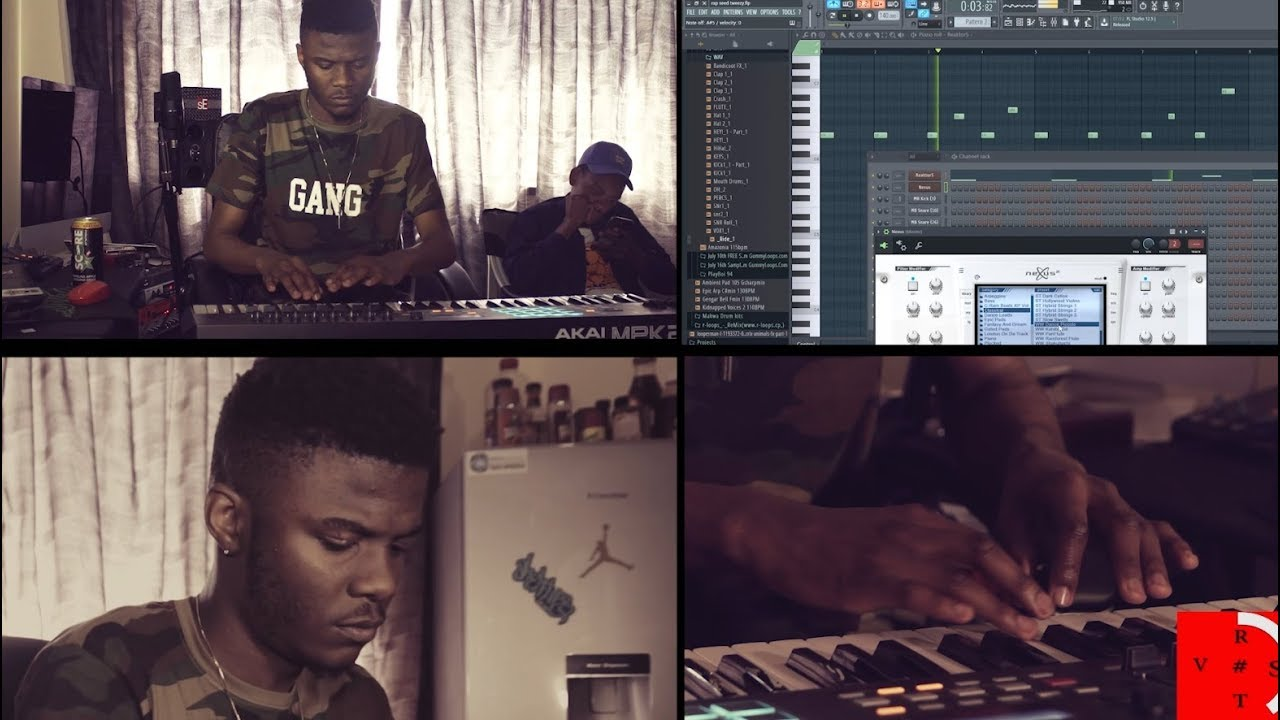 """Download Tweezy Makes Beat In 10 Minute For """"Me Against Time"""" (Episode 9)"""