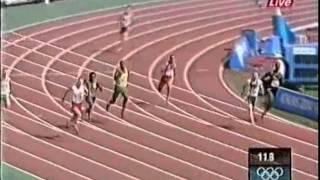 Усейн Болт на Олимпиаде 2004 (Usain Bolt, Olympics games 2004, 200m)