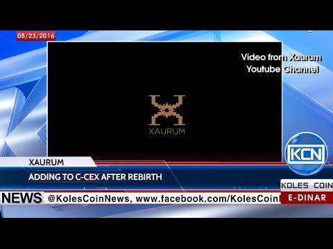 KCN Digest: Xaurum was added to C-CEX