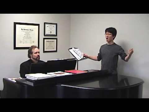 Stanford Felix, D.M.A.- teaching voice lesson
