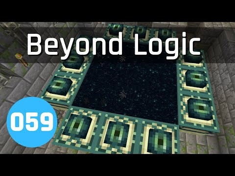 Beyond Logic #59: Interdimensional Item Smuggling | Minecraft 1.13