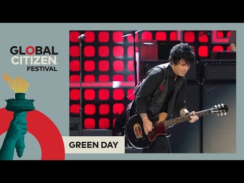 Green Day Perform 'American Idiot' | Global Citizen Festival NYC 2017