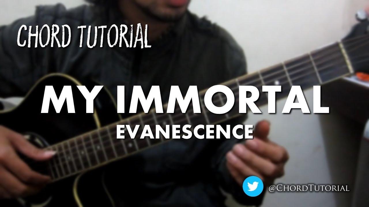 My Immortal Evanescence Chord Youtube