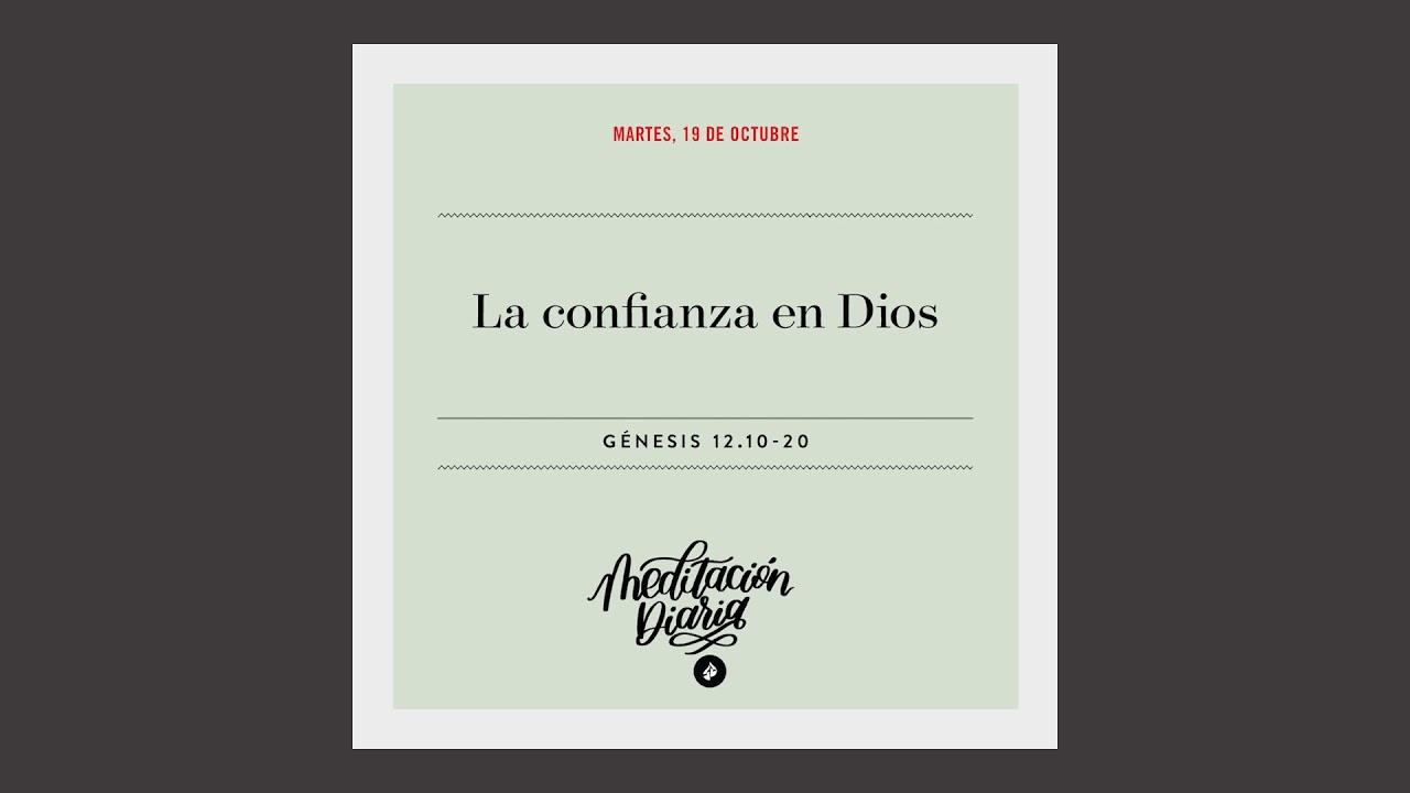 La confianza en Dios – Meditación Diaria