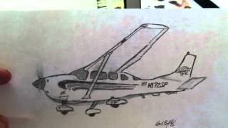 Cessna 206 Drawing