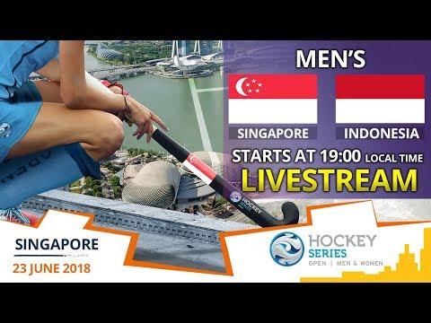 Singapore v Indonesia | 2018 Men's Hockey Series Open Singapore | FULL MATCH LIVESTREAM