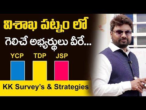 KK Surveys & Strategies 2019 Elections Survey on Vizag   AP Political Survey 2019   Mr Venkat TV