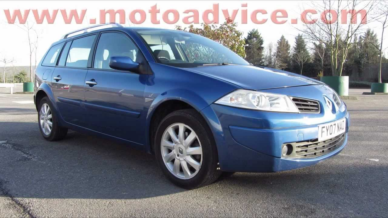 2007 renault megane estate 1 5 dci diesel for sale youtube. Black Bedroom Furniture Sets. Home Design Ideas