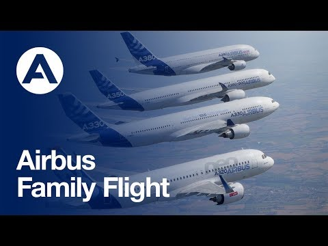 A family that flies together: Airbus' commercial aircraft