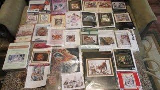 86 Вышивка: моя коллекция наборов - кошки дикие и домашние