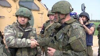 Эксклюзивные кадры: российские и турецкие военные провели первое патрулирование в Идлибе