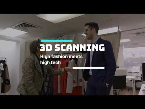 Future of fashion: clothes tailor uses Xbox Kinect to create 3D body scans