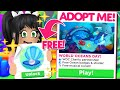 *ITS HERE!* and it's *ALL FREE* ADOPT ME UPDATE (roblox) WORLD OCEANS DAY