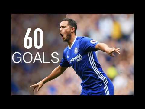 Eden Hazard - First 60 Goals For Chelsea FC - HD