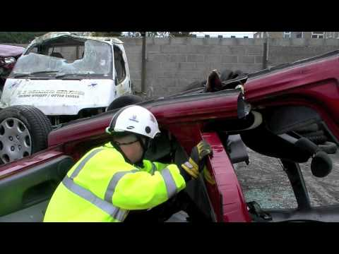 Extrication Road Traffic Collisions Training Part 3 - Fire