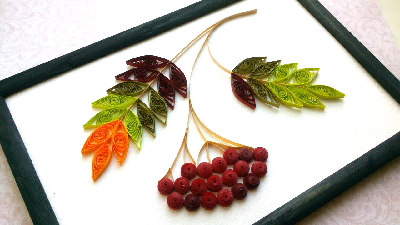 DIY Room Decor With Quilling: Autumn Room Decor - Creative Paper ...