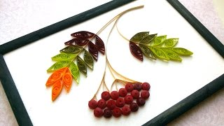 DIY Room Decor With  Quilling:  Autumn Room Decor - Creative Paper