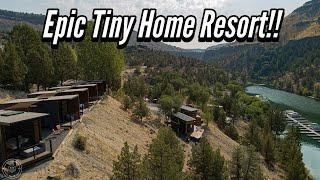 Epic Tiny Home Resort! Tiny House Hotel in Bend, Oregon - Lake Simtustus - Tiny Heirloom
