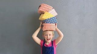 How to Sew a Fabric Storage Bin