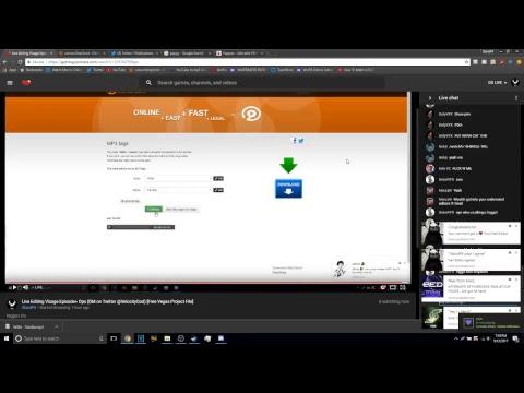 Live Editing Visage Episode+ Ops (DM on Twitter @VelocityGod) [Free Vegas Project File]