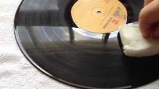 Magic Eraser as a Vinyl Cleaner