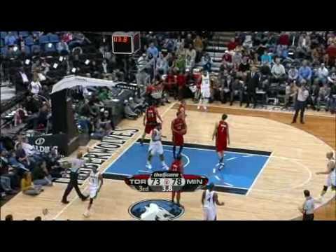 Toronto Raptors Vs Minnesota Timberwolves Feb 10 09 Youtube