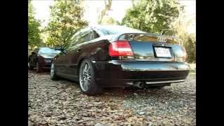 2001 Audi A4 1.8T BT 3 inch Exhaust