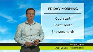 Friday morning forecast - 14/09/18