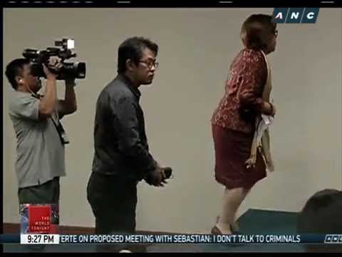 More lawmakers oppose showing of De Lima's alleged sex video - 동영상